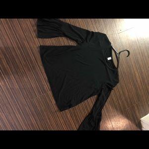 BP Black bell sleeve top